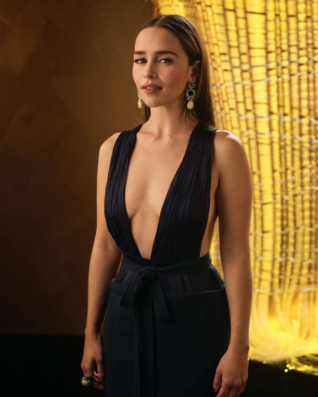 Emilia Clarke - 71st Emmys Portraits by Mark Leibowitz 2019