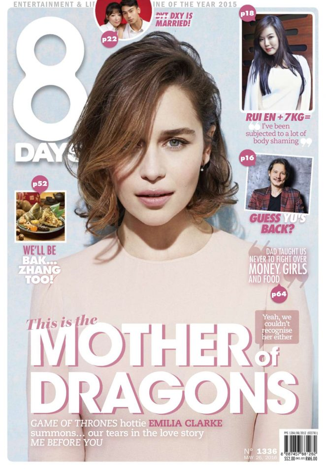 Emilia Clarke – 8 Days Magazine (May 2016)
