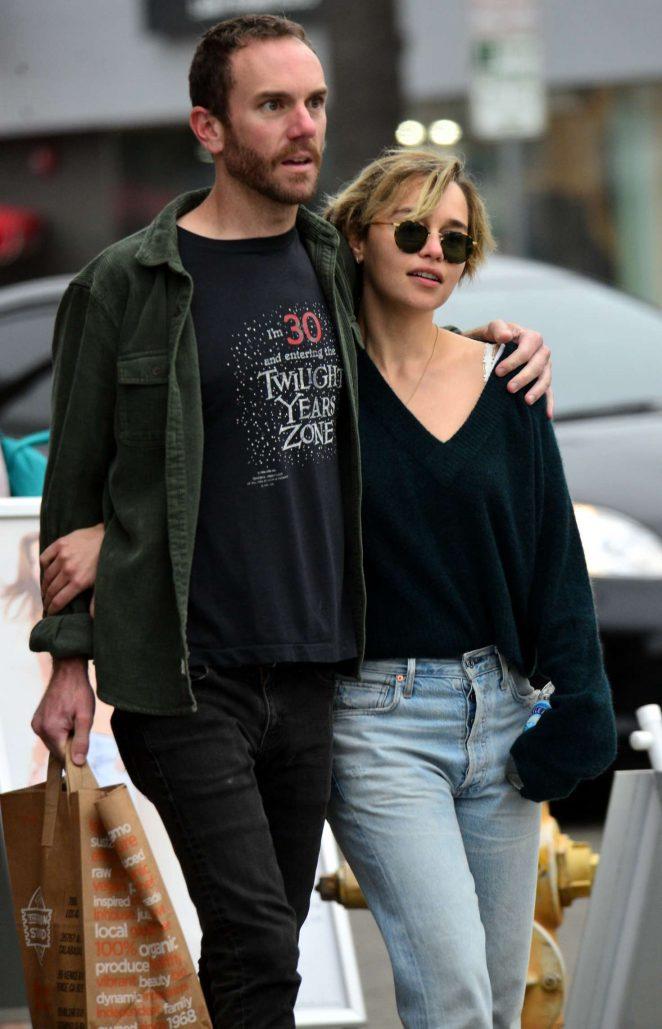 Emilia Clarke Partner
