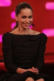 Emilia Clarke at the Graham Norton Show in London