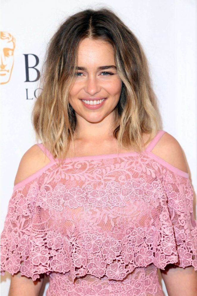 Emilia Clarke - BAFTA LA TV Tea Party in Los Angeles