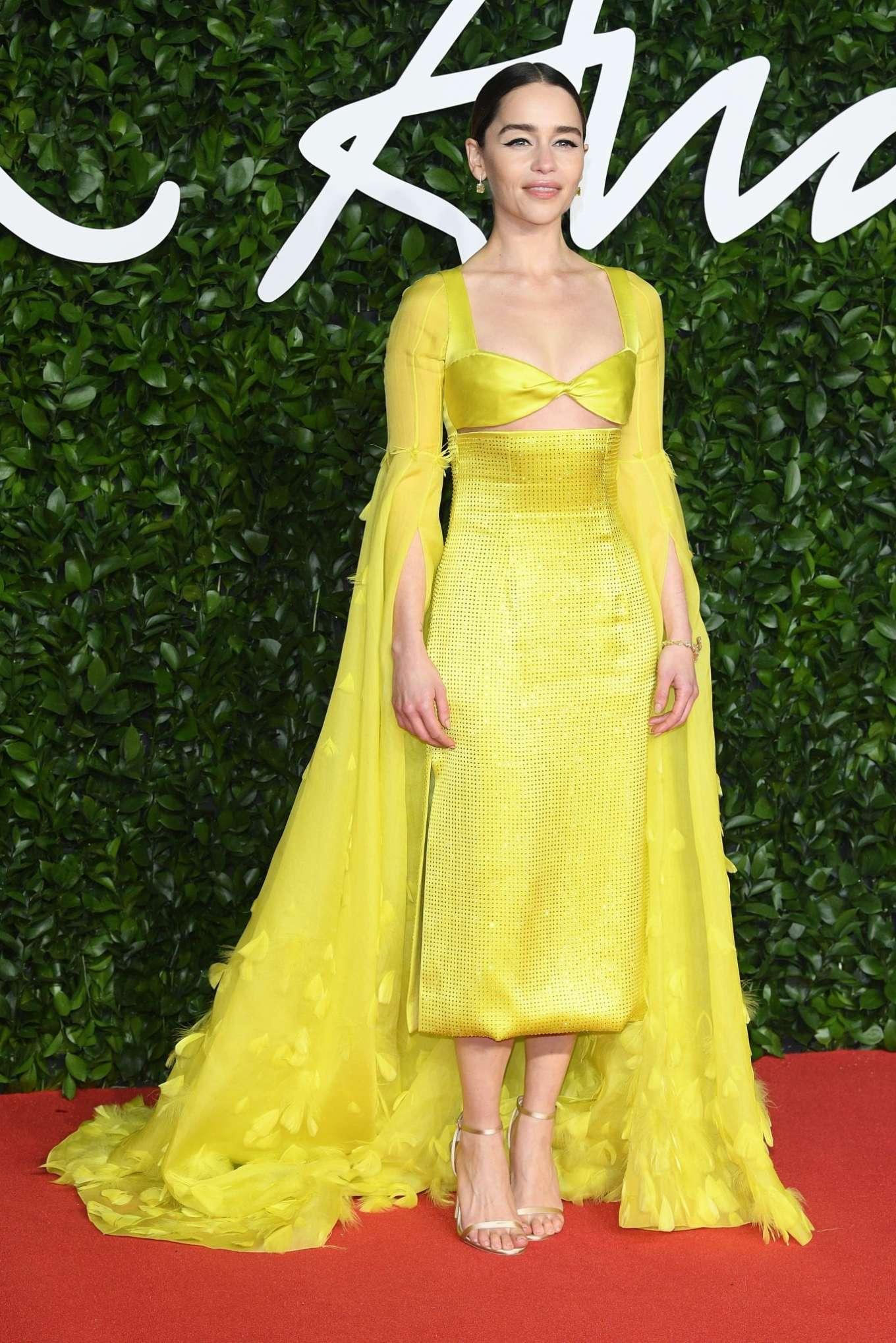 Emilia Clarke 2019 : Emilia Clarke – Fashion Awards 2019 in London-02