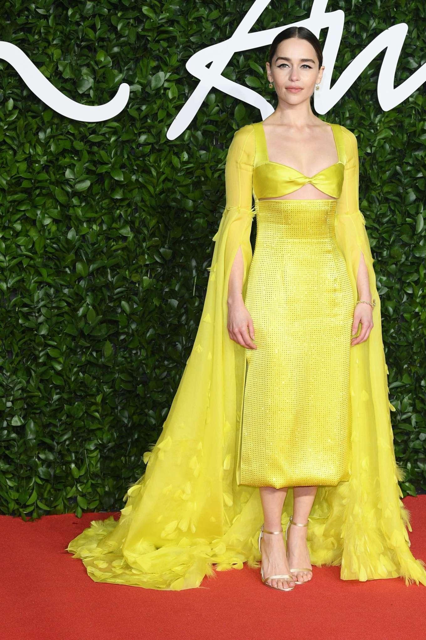 Emilia Clarke 2019 : Emilia Clarke – Fashion Awards 2019 in London-05
