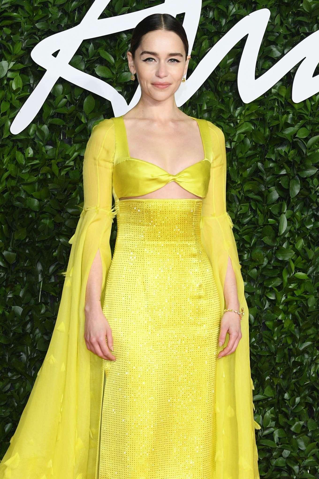 Emilia Clarke 2019 : Emilia Clarke – Fashion Awards 2019 in London-07
