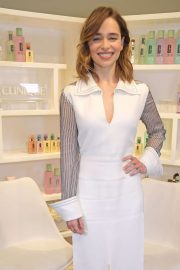 Emilia Clarke - Clinique iD Event with new Global Brand Ambassador Emilia Clarke in London
