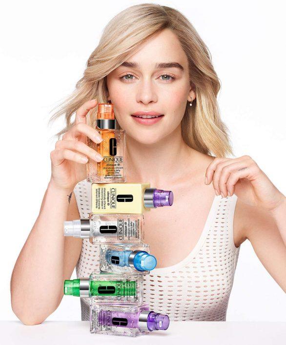 Emilia Clarke - Clinique iD for Clinique 2020