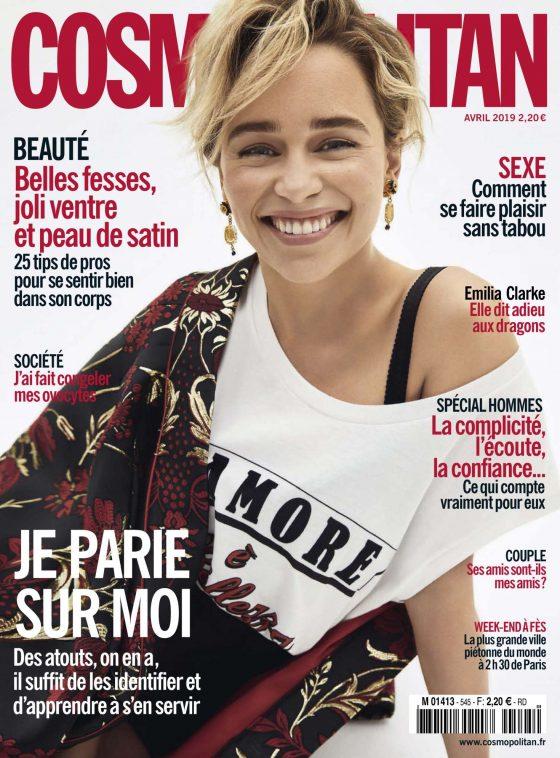 Emilia Clarke - Cosmopolitan France Magazine (May 2019)