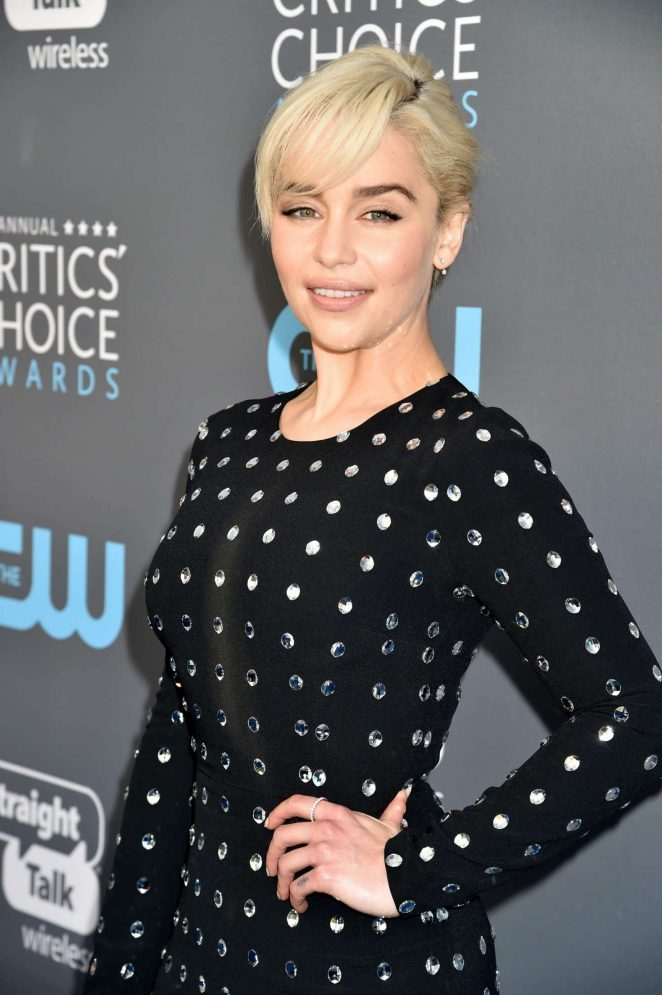 Emilia Clarke - Critics' Choice Awards 2018 in Santa Monica