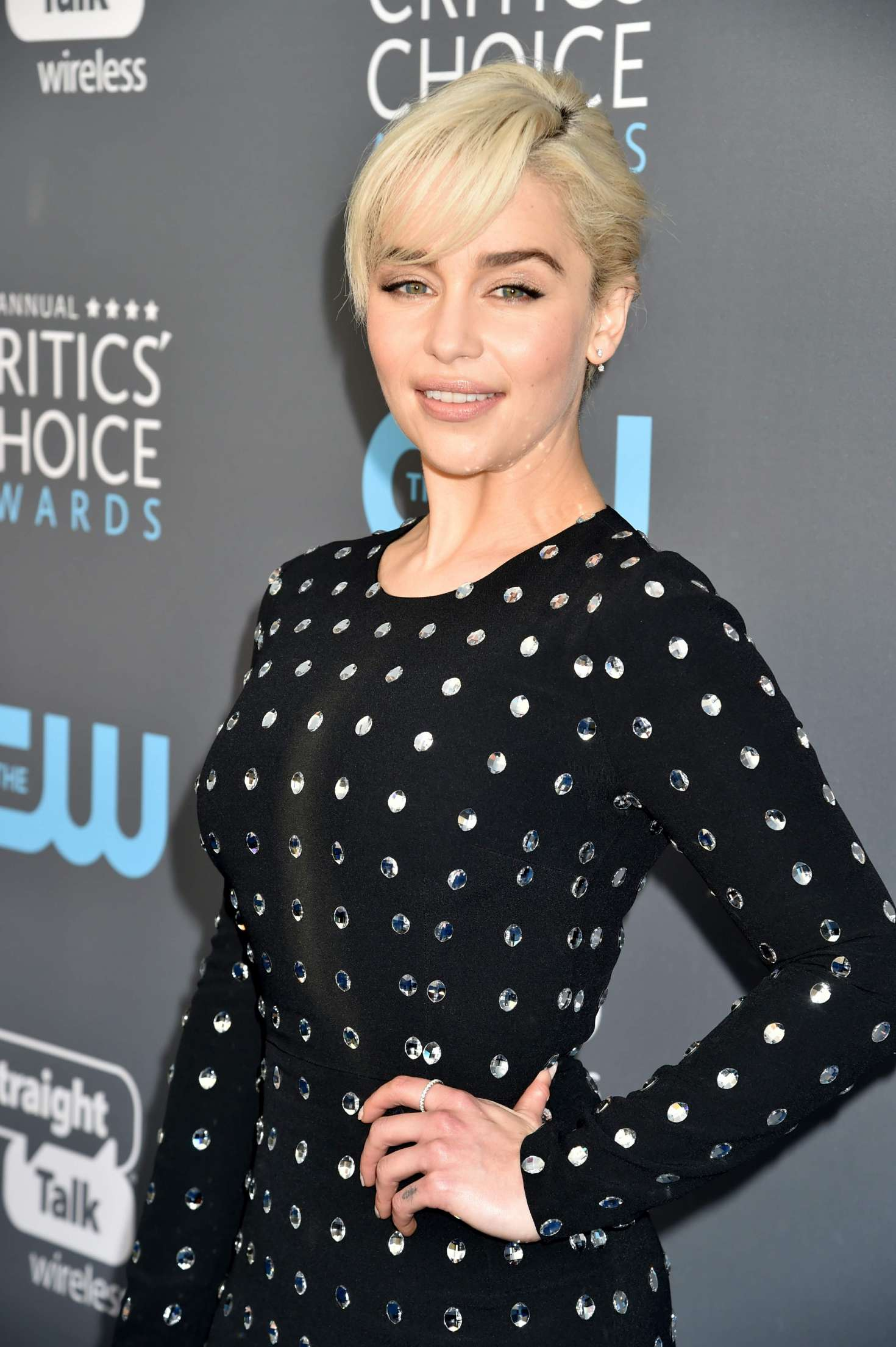 Emilia Clarke - Critics' Choice Awards 2018 in Santa Monica