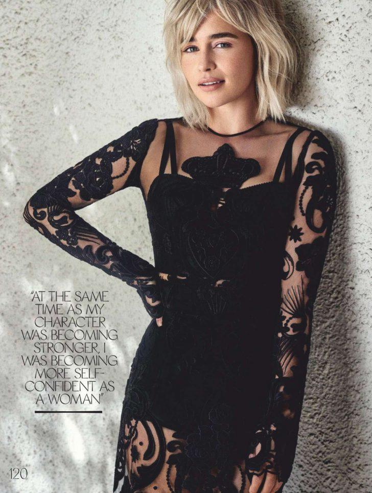 Emilia Clarke - Elle Australia Magazine (april 2019)