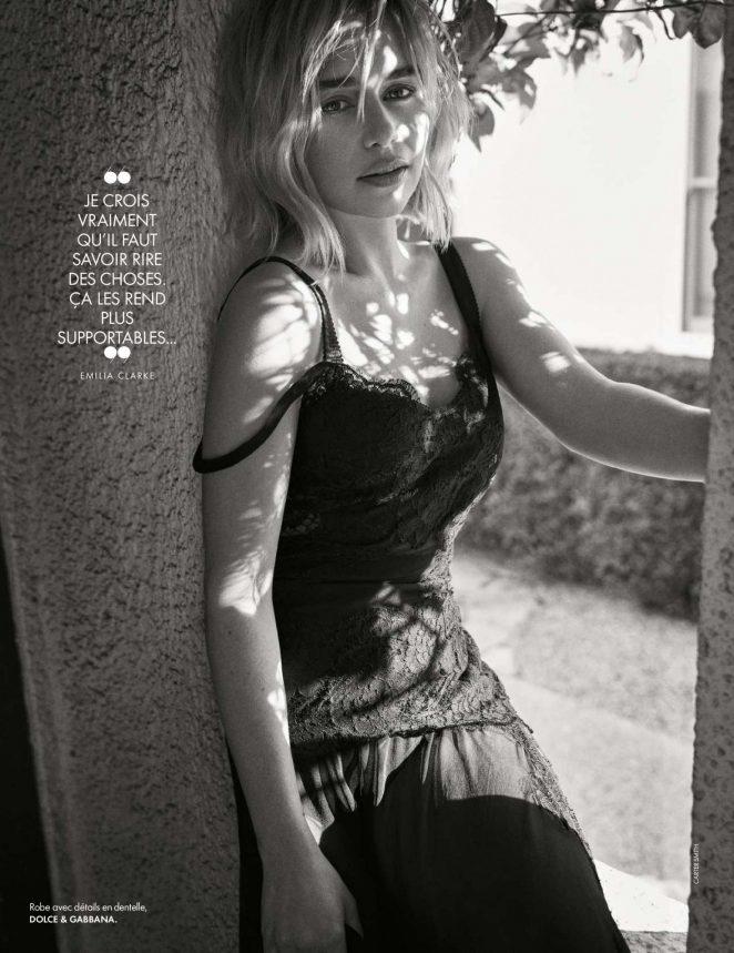 Emilia Clarke – Elle France Magazine (November 2018)