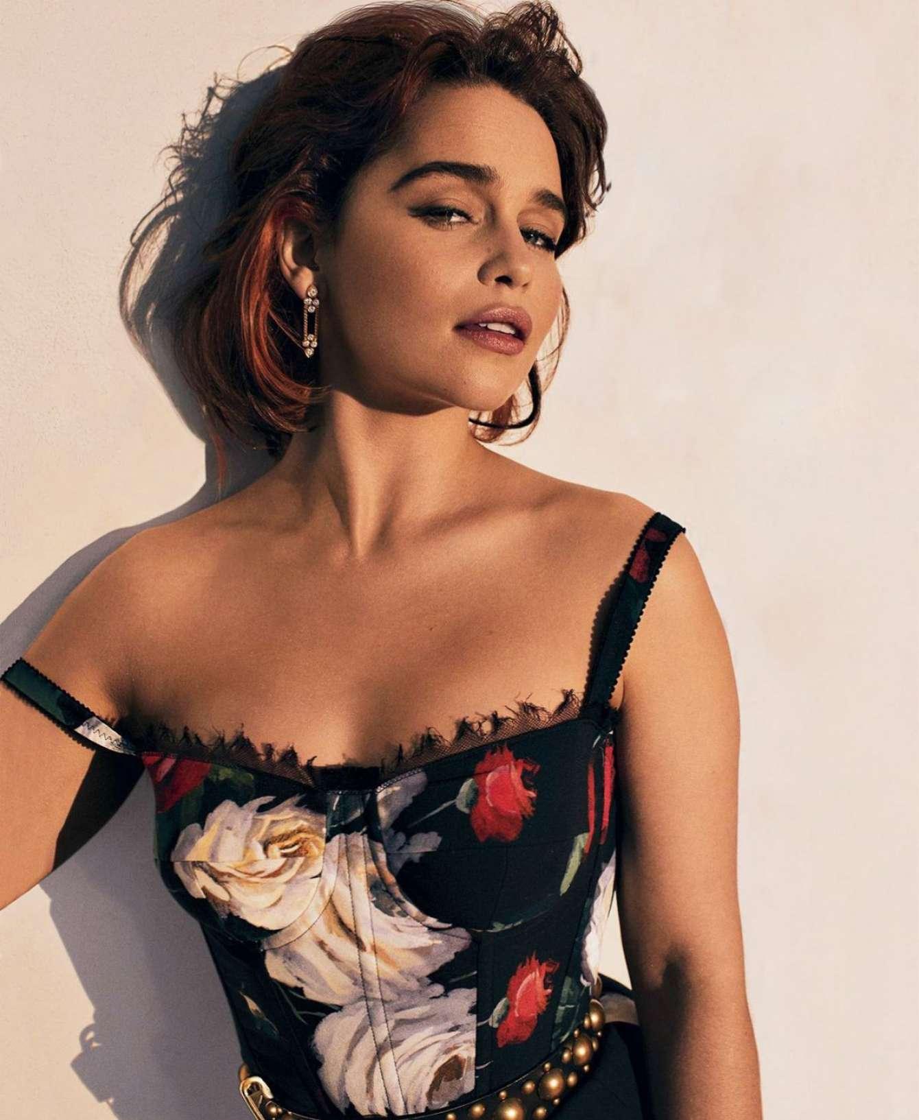 Emilia Clarke - Elle Magazin (August 2017)