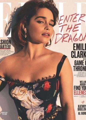 Emilia Clarke - Elle Magazine (August 2017)
