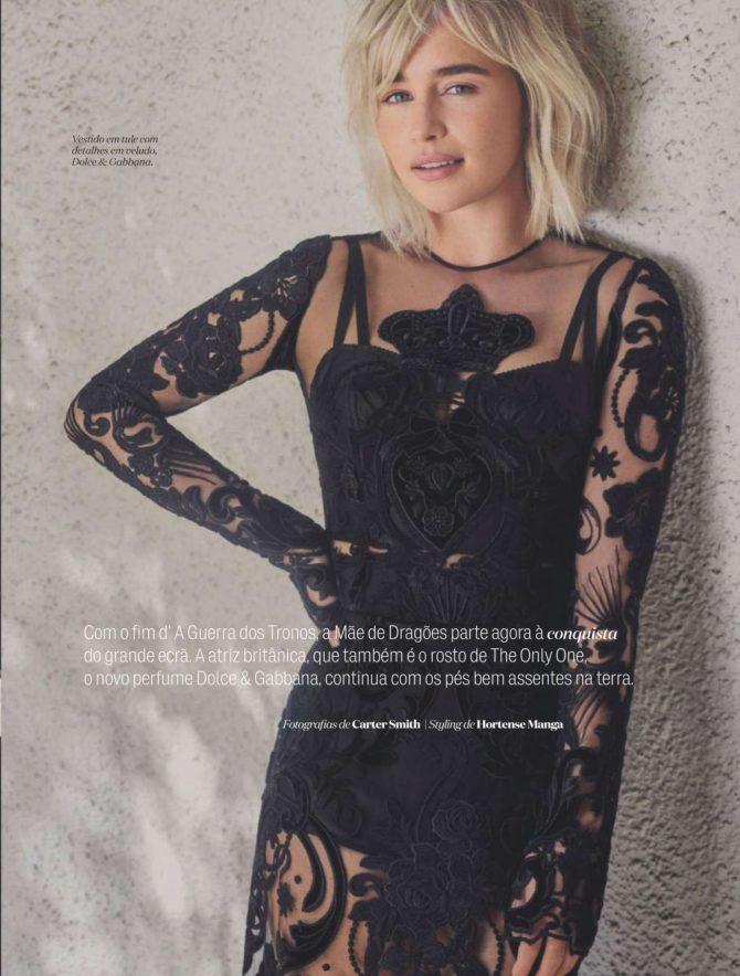 Emilia Clarke – Elle Portugal Magazine (March 2019)