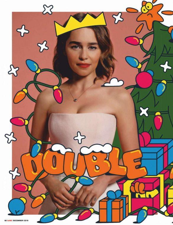 Emilia Clarke - Empire UK Magazine (December 2019)