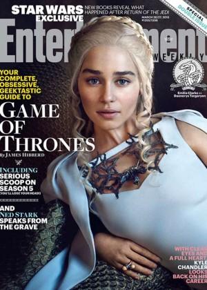 Emilia Clarke - Entertainment Weekly (March 2015)