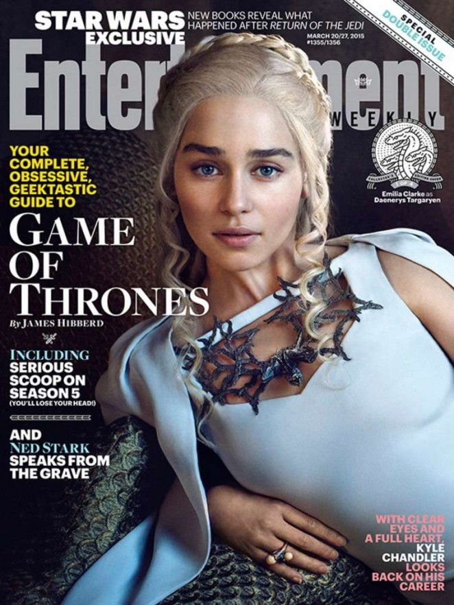 Emilia Clarke – Entertainment Weekly (March 2015)