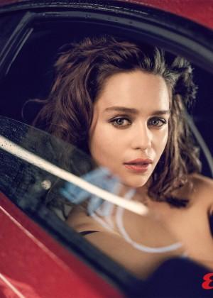 Emilia Clarke: Esquire 2015 -01