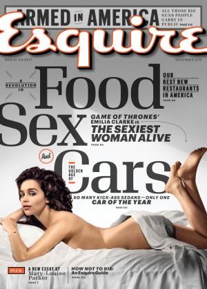 Emilia Clarke: Esquire 2015 -04