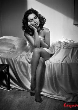 Emilia Clarke: Esquire 2015 -07