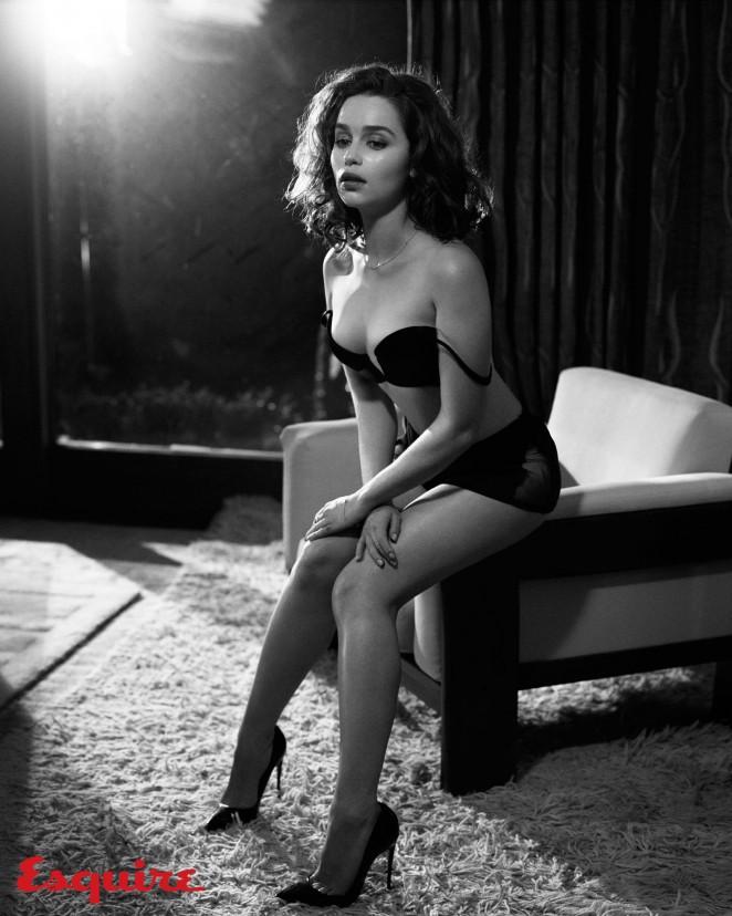Emilia Clarke - Io Donna Magazine July 2015 Issue