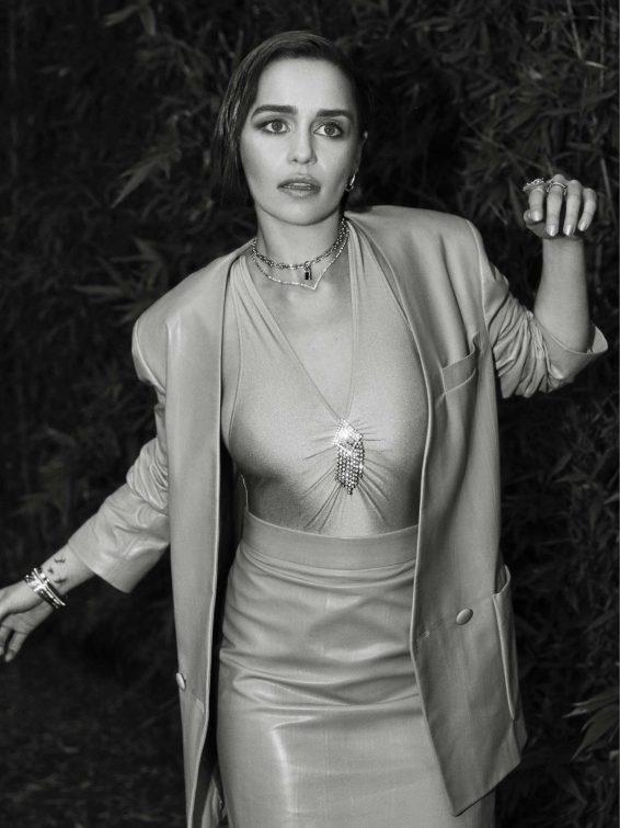 Emilia Clarke - Flaunt Magazine 2019