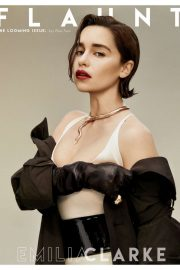 Emilia Clarke - Flaunt Magazine (Issue 166)
