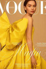 Emilia Clarke for Vogue Espana Cover (May 2019)
