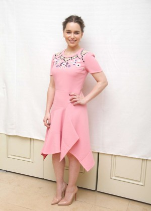Emilia Clarke - 'Game of Thrones' Press Conference in Beverly Hills