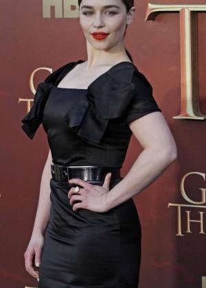 Emilia Clarke - 'Game of Thrones' Season 5 San Francisco Premiere