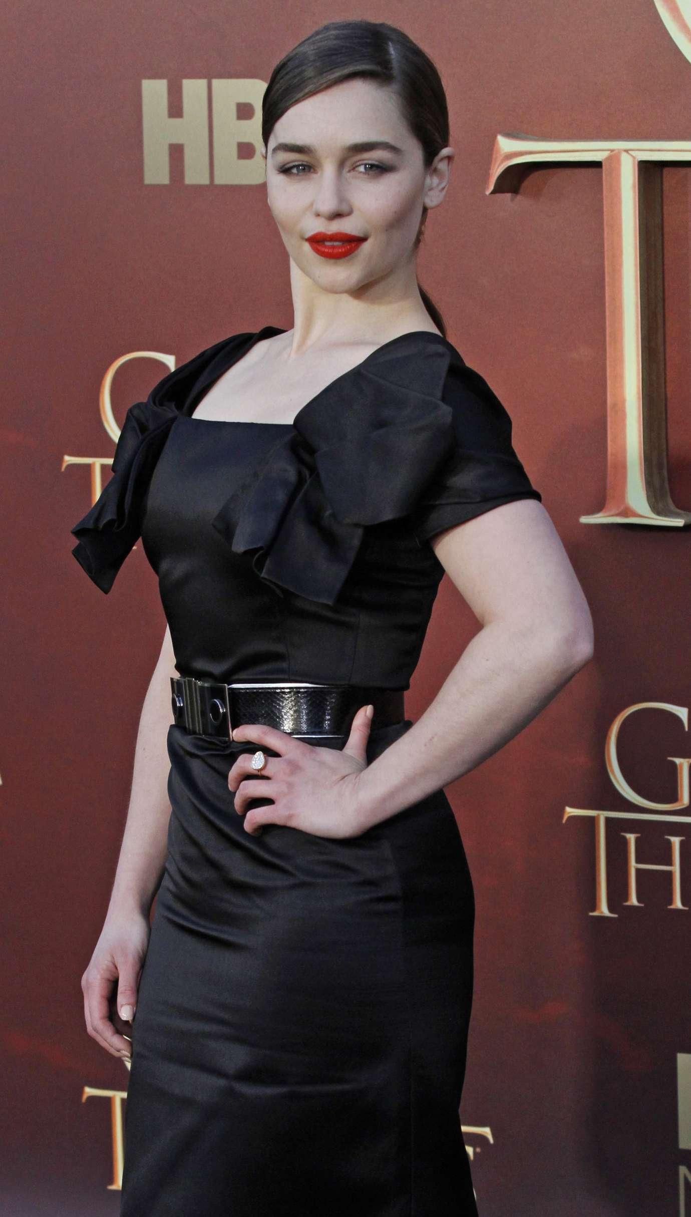 Emilia Clarke: Game Of Thrones Season 5 San Francisco