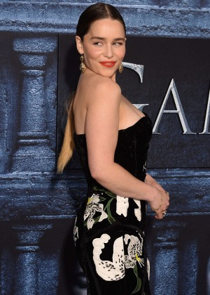 Emilia Clarke - 'Game of Thrones' Season 6 Premiere in Hollywood