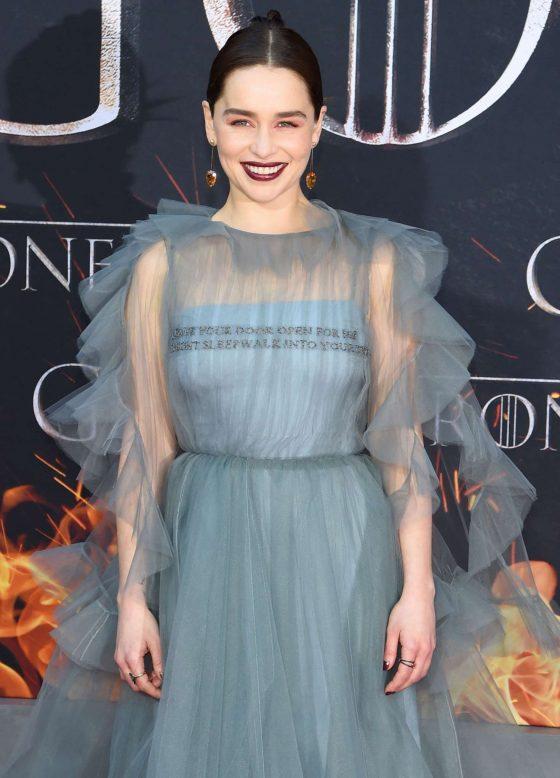 Emilia Clarke - 'Game of Thrones' Season 8 Premiere in New York