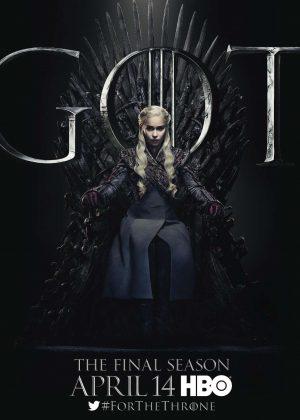 Emilia Clarke - 'Game of Thrones' Season 8 Promotional Photos