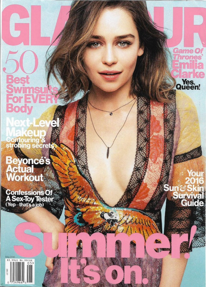 Emilia Clarke - Glamour US Magazine (May 2016)