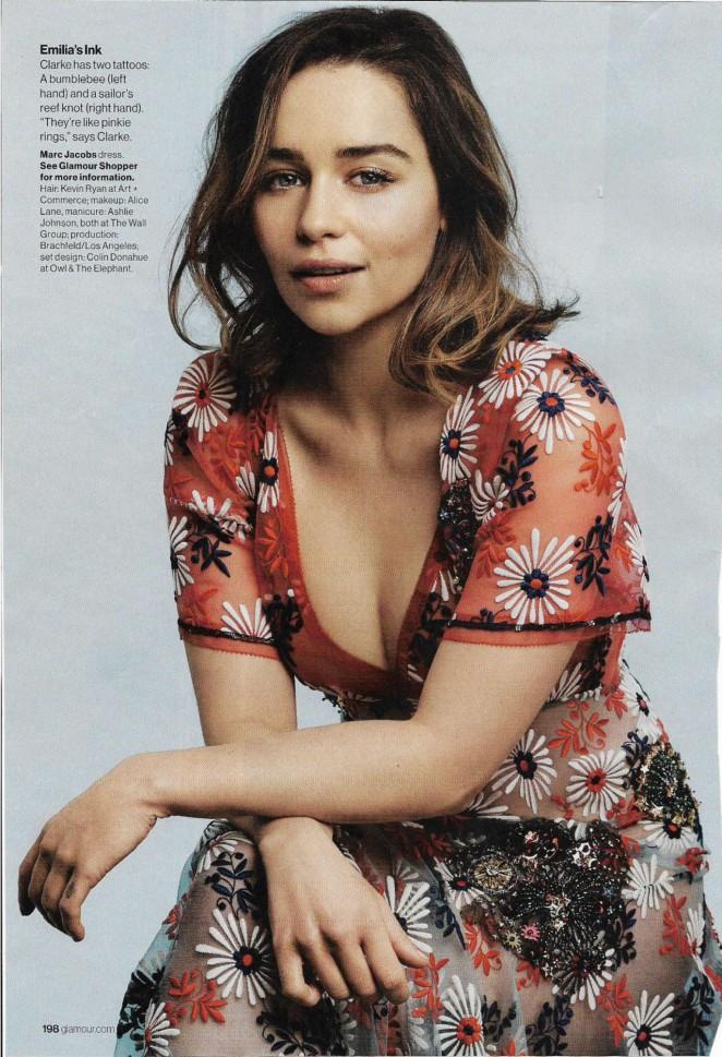 Emilia Clarke - Glamour US Magazine (May 2016)