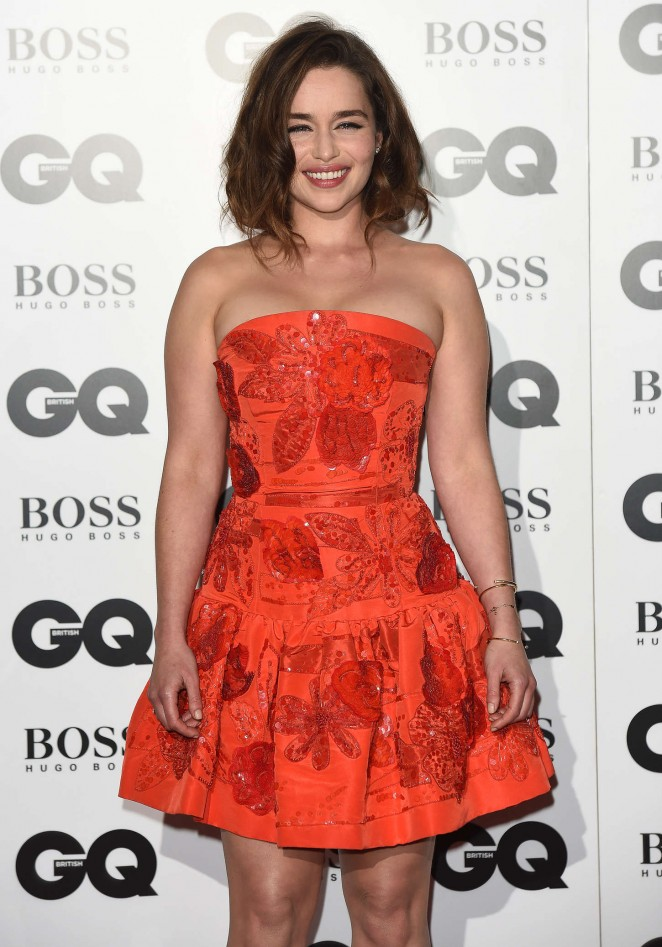 Emilia Clarke - GQ Men Of The Year Awards 2015 in London