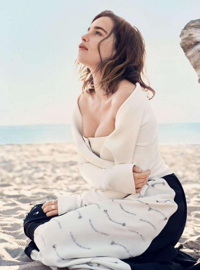 Emilia Clarke - Harper's Bazaar Magazine (July 2016)