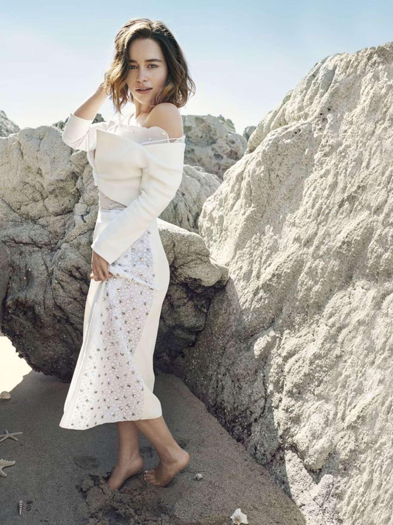 Emilia Clarke Harpers Bazaar 2016 06 Gotceleb