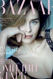 Emilia Clarke - Harper's Bazaar Russia Cover Magazine (February 2020)