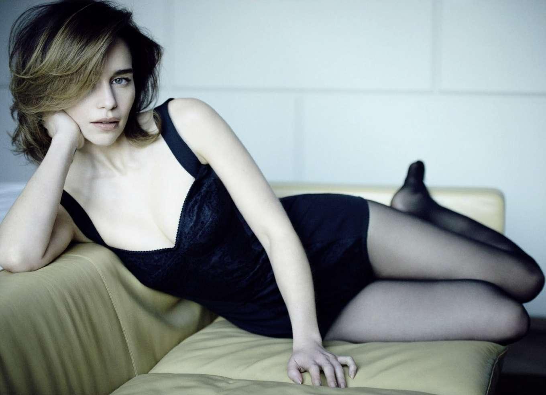 Emilia Clarke - Harper's Bazaar Russia Magazine (February 2020)