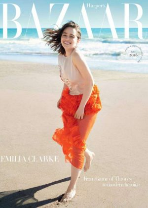 Emilia Clarke - Harper's Bazaar UK Cover (July 2016)