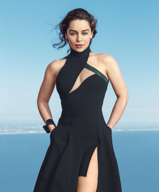 Emilia Clarke - Harper's Bazaar US Magazine ( June/July 2015) adds