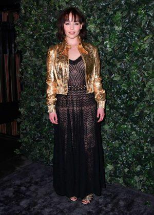 Emilia Clarke - Harvey Weinstein Pre BAFTAs Dinner in London