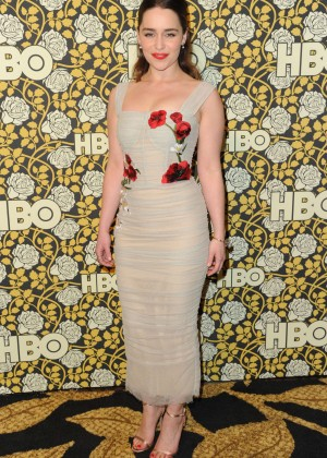 Emilia Clarke - HBO Golden Globes Afterparty in LA