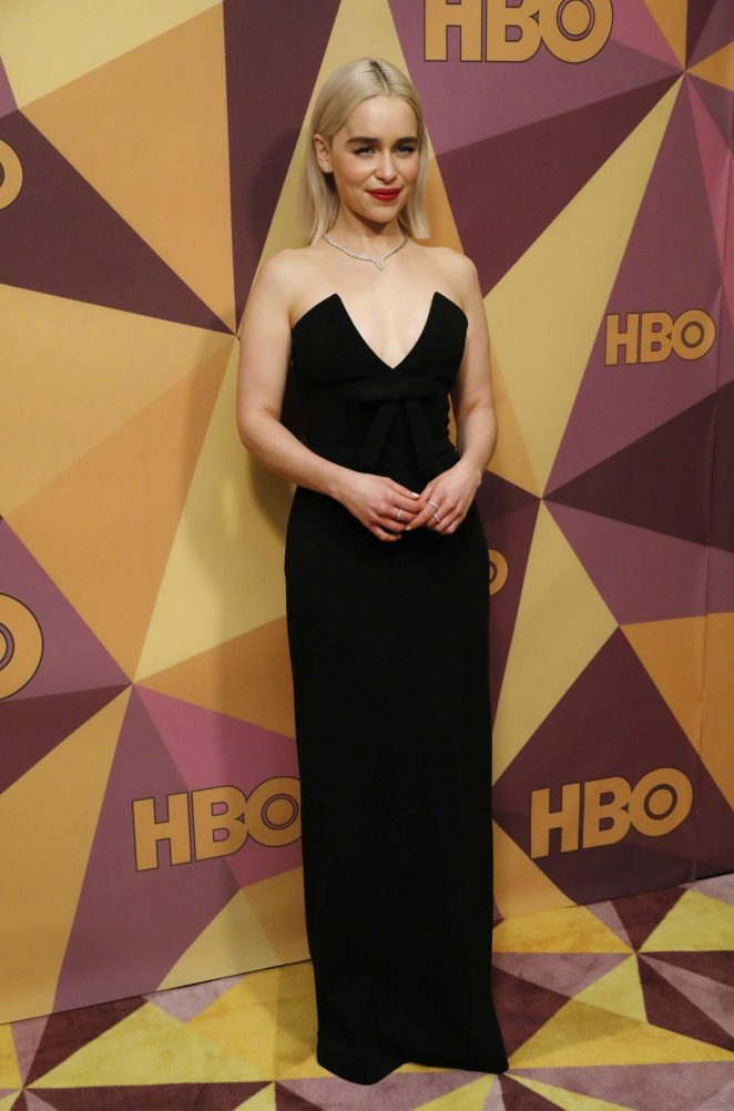 Emilia Clarke - HBO's Official Golden Globe Awards After Party in LA