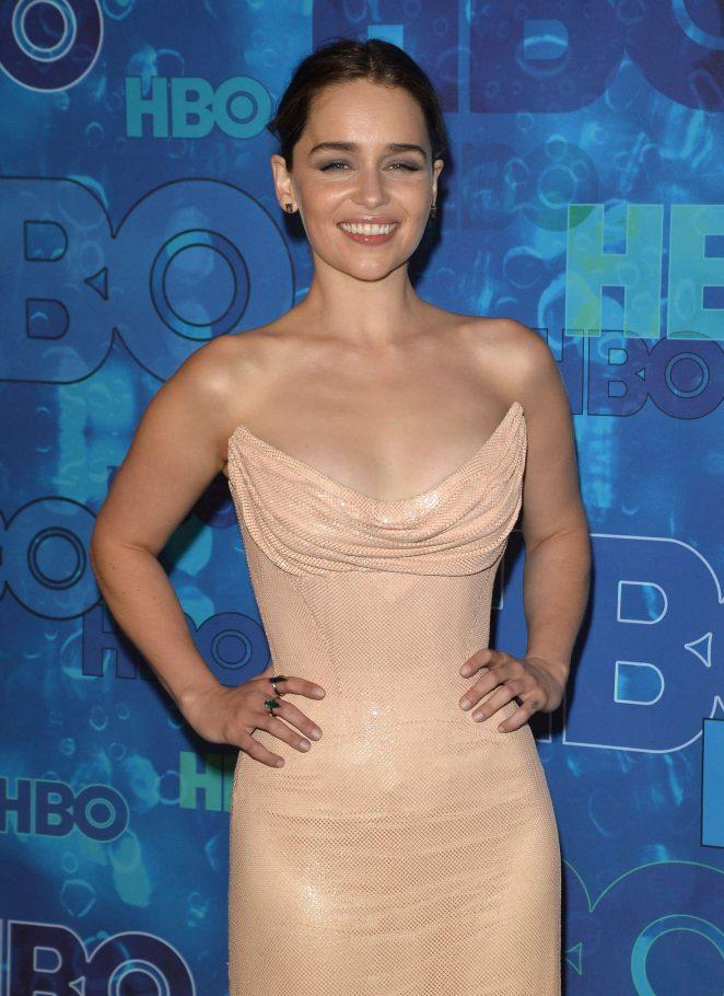 Emilia Clarke - HBO's Post Emmy Awards Reception 2016 in LA