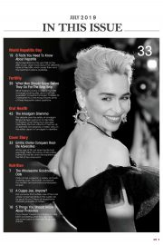 Emilia Clarke - Health Today Malaysia Magazine (July 2019)