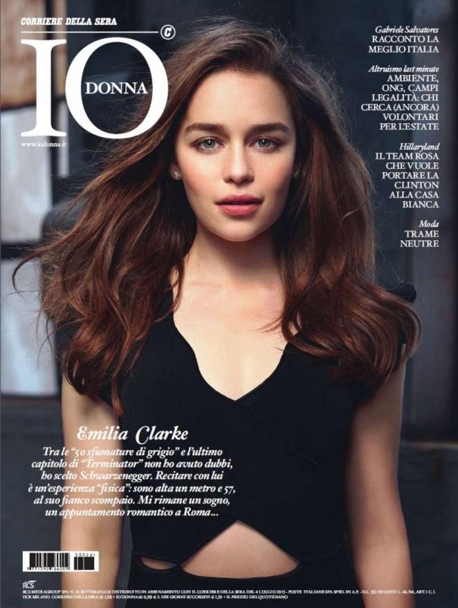 Emilia Clarke - Io Donna Magazine (July 2015)