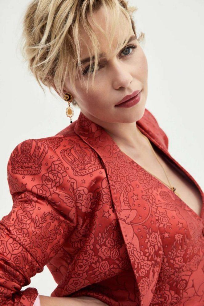 Emilia Clarke - iO Donna Magazine (October 2018)